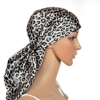 Leopard Schwarz / Silber