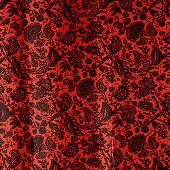 Vintage Rot / Schwarz